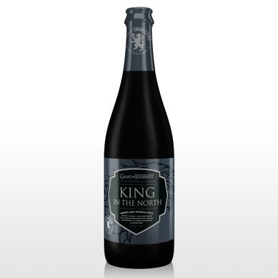 The latest beer in HBO and Brewery Ommegang's Game of Thrones series, King in the North is scheduled to be released Nov. 23. The barrel-aged imperial stout has a suggested retail price of $12.99.