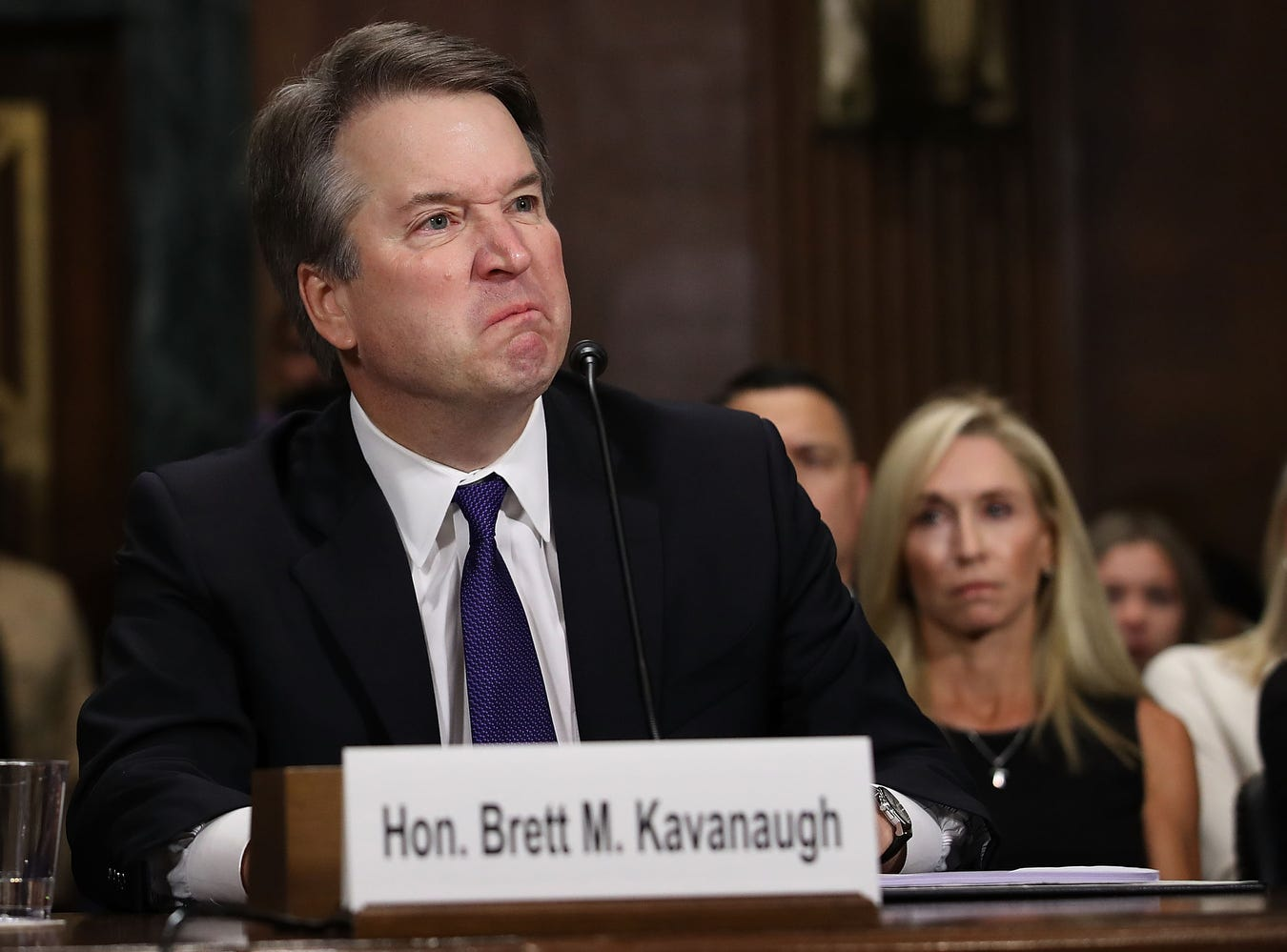 Judge Brett Kavanaugh stridently rejected the allegations of sexual abuse by Christine Blasey Ford and two other women in prepared remarks.