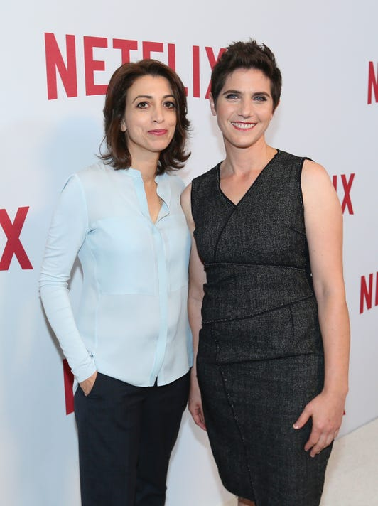 Netflix S Rebels And Rule Breakers Luncheon And Panel Celebrating The Women Of Netflix Red Carpet