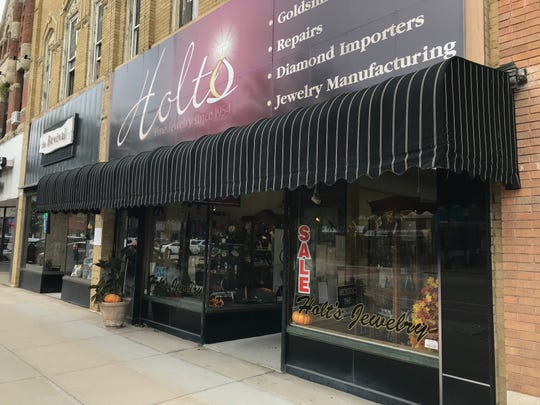 Holt's Jewelry in downtown Neenah