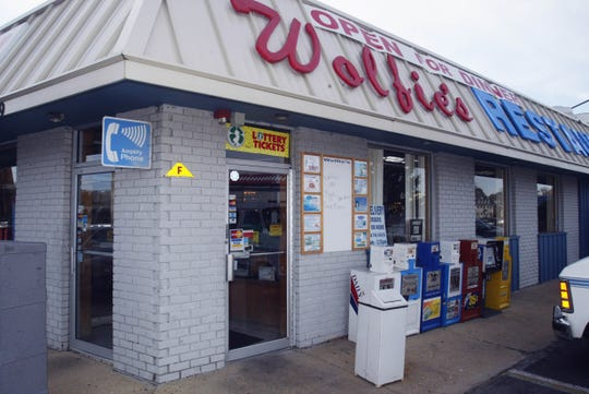 This file photo shows Wolfie's Restaurant on Route 37 in Toms River.