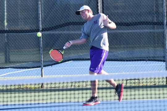 Wylie's Cole Edwards is one of four senior boys in the regular starting lineup this season. Edwards and the Bulldogs know the Class 5A postseason will be more challenging than their relatively easy run to the 4A title last year.
