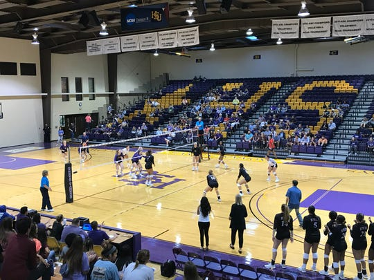 McMurry and Hardin-Simmons had their first meeting of the year on Thursday night. Both teams are among the best in the American Southwest Conference.