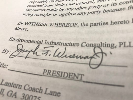 Joe Wiseman, a Georgia-based engineer at the center of an alleged kickback scheme with former Buncombe managers, worked as a county contractor for decades.
