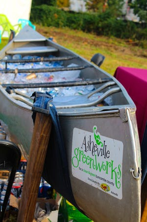 Asheville GreenWorks holds is annual Root Ball Sept. 29 in the River Arts District.