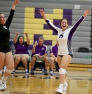 North Kitsap volleyball player Noey Barreith and the Vikings are looking to claim the program's 10th Olympic League 2A title in 11 seasons.