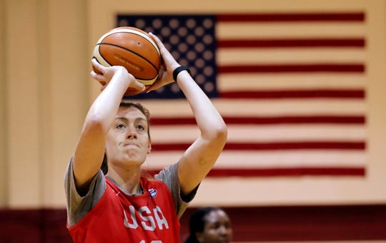 Breanna Stewart of the Seattle Storm is already the top star on the U.S. national team.