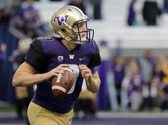 Washington quarterback Jake Browning will look to get the Huskies' offense running more smoothly this week against Brigham Young.