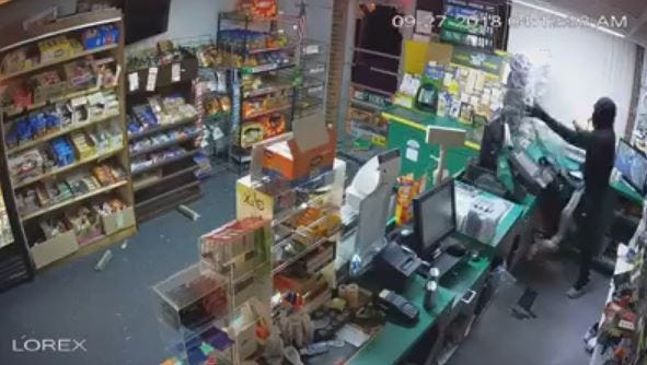 Thousands of dollars of lottery tickets were stolen from Burnt Mill News shortly after 4 a.m. Thursday.