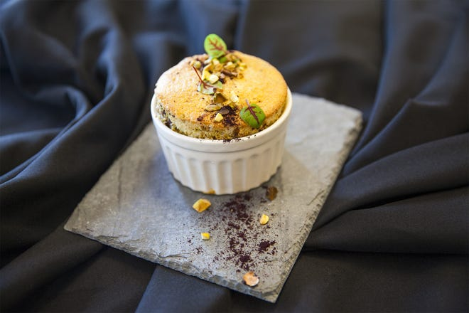 A pistachio souffle is great way to enjoy a favorite nut. Soufflés are baked egg-based dishes that originated in early 18th-century France.