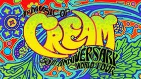 Cream's 50th anniversary tour will make three stops in Ohio.