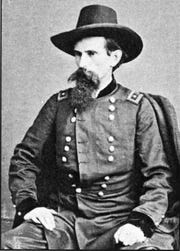 "Civil War Gen. Lew Wallace united citizens of Northern Kentucky and Cincinnati to defend their area from Confederate invasion with 50,000 irregular militia, casually known as ""Squirrel Hunters,"" supported by 22,000 regular Union troops."