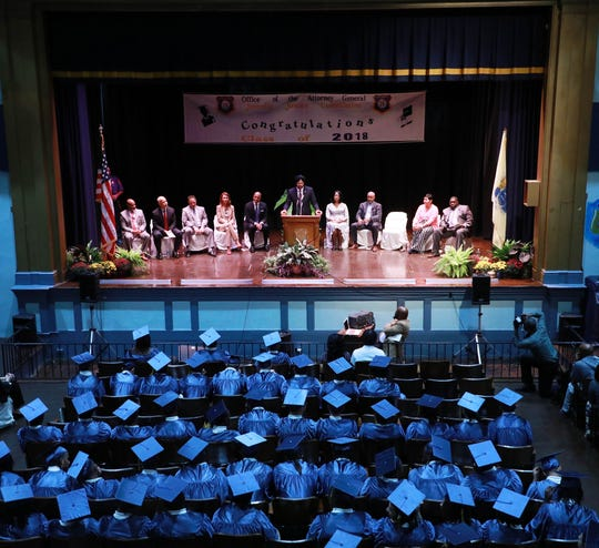 The New Jersey Juvenile Justice Commission (JJC) held its annual high school commencement ceremony Friday at the New Jersey Training School (NJTS)