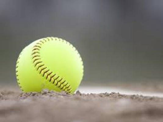 Softball On Ground
