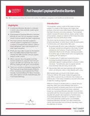 Leukemia And Lymphoma Society PTLD Fact Sheet