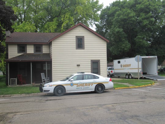 A baby was allegedly killed in the 500 block of Main Street in Elgin, Iowa.