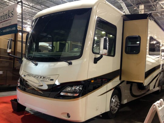 Nearly 400 RVs are on display this weekend at Suburban Collection Showplace.