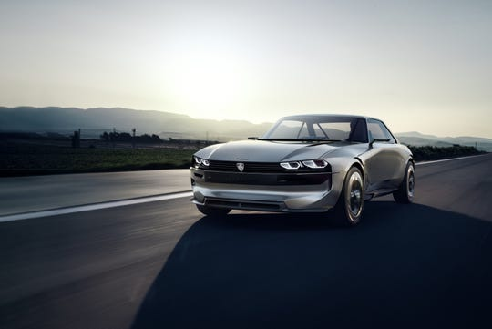 Peugeot E-Legend concept car