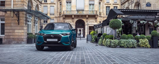 DS 3 Crossback subcompact SUV