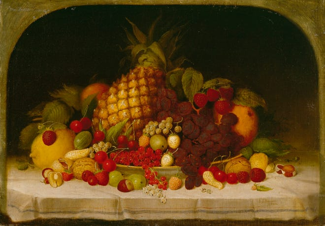 """Fruit Piece"" by Robert S. Duncanson"