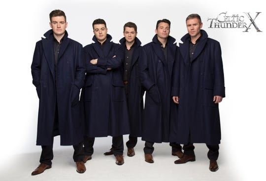 Celtic Thunder's latest DVD and double CD celebrate the group's 10th anniversary.