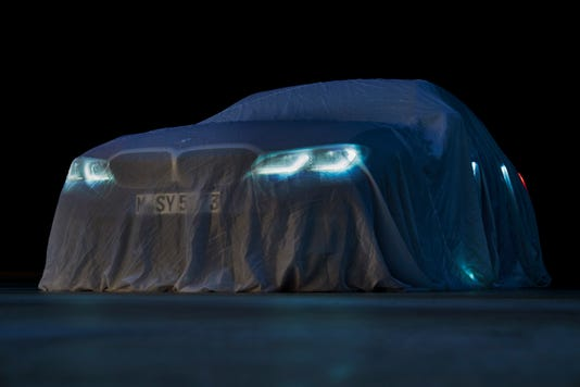 New Bmw 3 Series Teaser Paris Auto Show