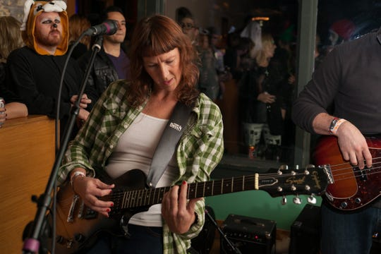 Singer-songwriter Audra Kubat helped organize Saturday's Detroit Folk Festival.