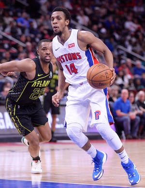 Ish Smith has started 67 games for the Pistons the past two seasons.
