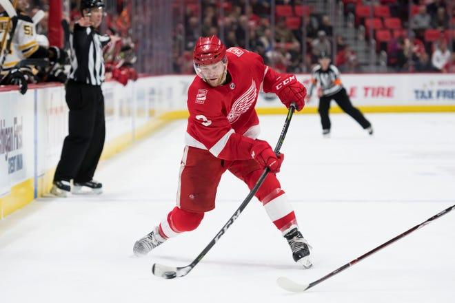 Red Wings defenseman Nick Jensen