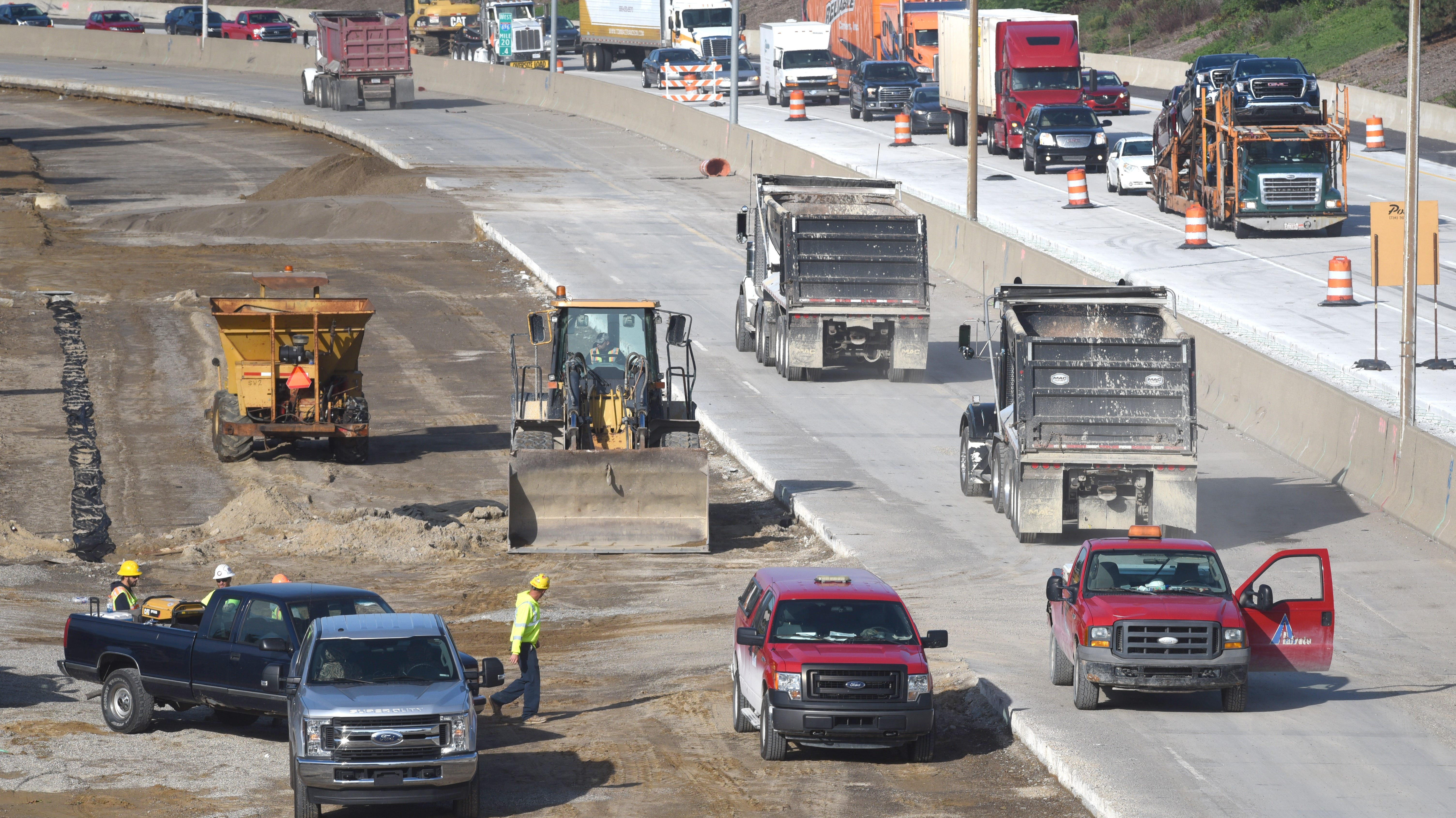MDOT: Weather may push I-696 repairs to spring