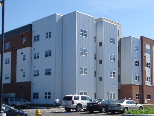 The Landings at Terra Village's Building B opened to students Friday. Once the entire project is completed, there will be 101 units available to students with a maximum capacity of 225 beds.