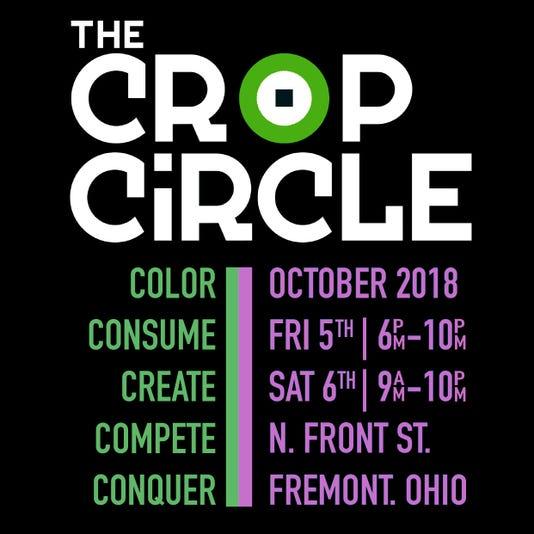 Crop Circle Insta Squarescrop Circle Black Insta Square