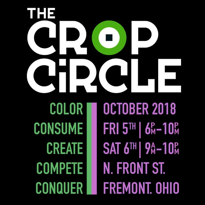 Downtown Fremont Inc. will be hosting the Crop Circle Festival Oct. 5 and 6.  The festival will be held Oct. 5 from 6-10 p.m. and Oct. 6 from 9 a.m.-10 p.m. Attendance to the festival will be free to the public.
