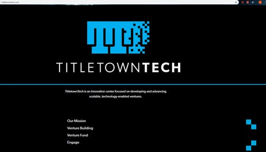A screenshot of the TitletownTech webpage. An internet domain name dispute resolution organization awarded the address to the Packers and Microsoft earlier this year.
