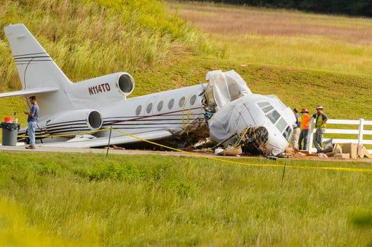 Plane Crash At Downtown Airport