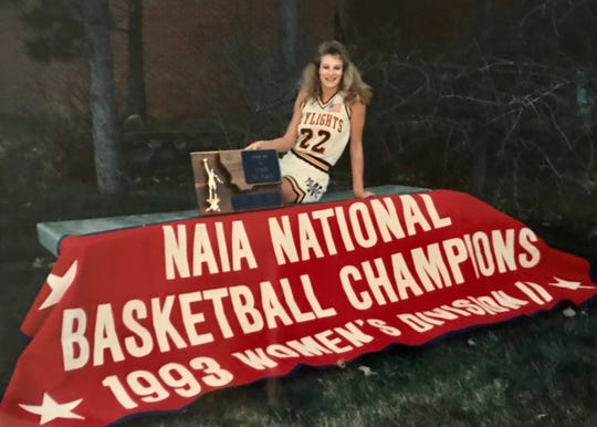 Charna Ophus was a point guard whose Big Sandy High team won a state championship in 1986 and whose Montana State-Northern team won an NAIA national title in 1993. She