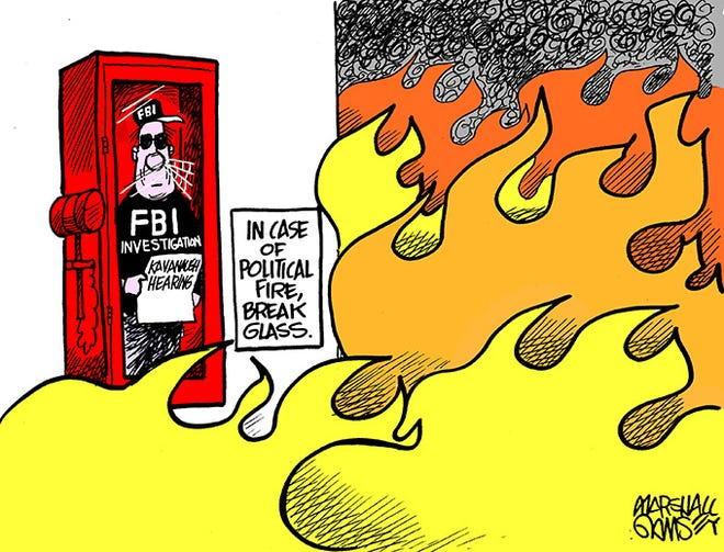 In case of political fire...