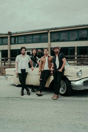 NEEDTOBREATHE is composed of Josh Lovelace, left, Seth Bolt, Bo Rinehart and Bear Rinehart.