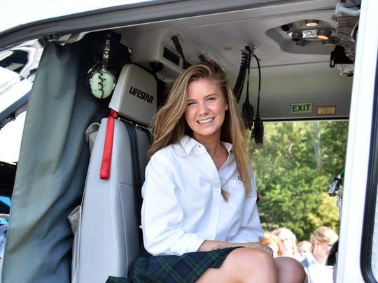 Webb School senior Anna Bryn Williams helped lead the initiative for the Webb MD program.