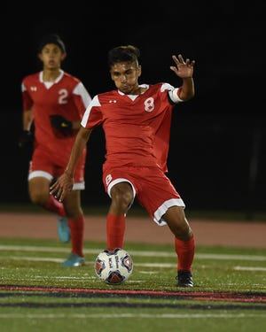 Edgar Del Real scored a goal in Lafayette Jeff's victory over Central Catholic.