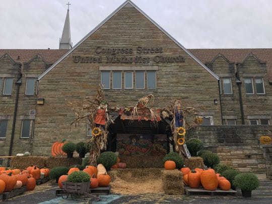 Congress Street United Methodist Church is hosting its 15th annual pumpkin patch fundraiser.