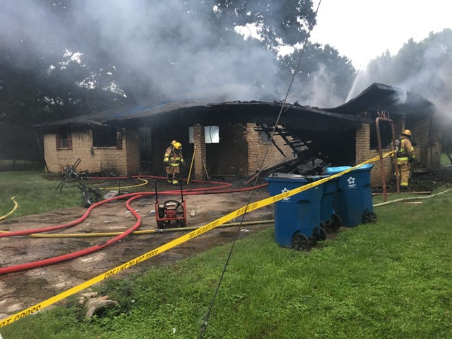 One person died Friday morning in a house fire in Lafayette.