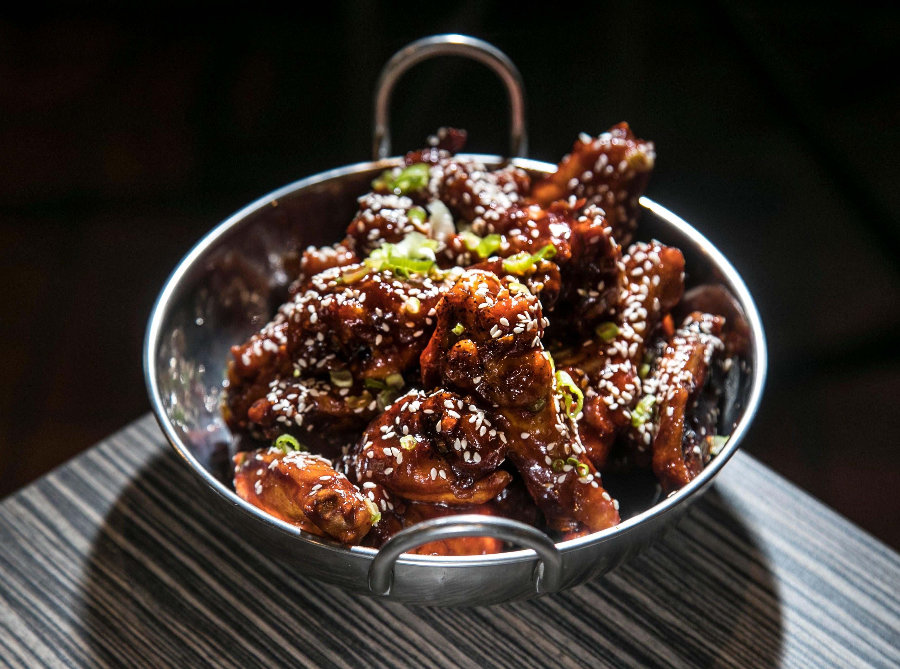 Butchertown Pizza Hall's Spicy Korean wings. Sept. 27, 2018