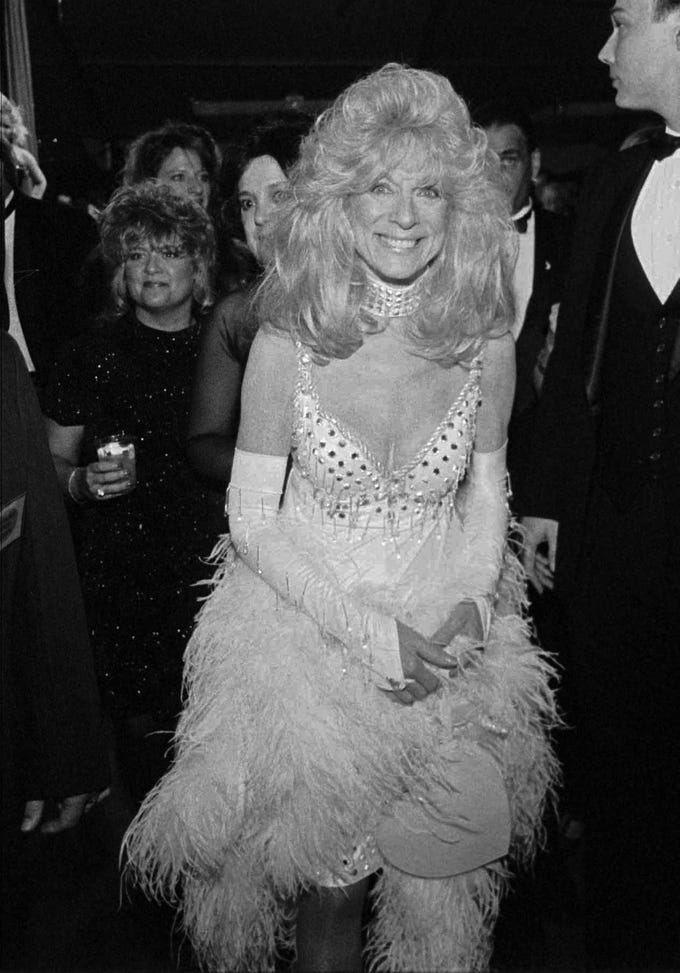 Socialite and horsewoman Anita Madden made her way through the crowd at her party in Lexington on May 2, 1997.  Madden died at the age of 85 Sept. 27, 2018.