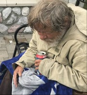 Richard Stanton, 68, lived outside this summer in Old Town, sleeping in parks. His guardians lost track of him. He talks about his finances Sept. 19, 2018.