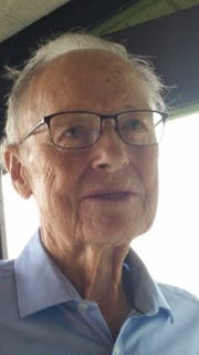 Cloyd McNaull, 86, served in the United States Air Force from 1951 to 1955.