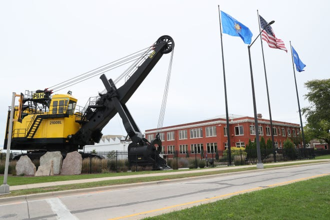With Komatsu Mining Corp. moving to Milwaukee's Harbor District, West Milwaukee officials are starting the process of finding new uses for the company's site at 4400 W. National Ave.