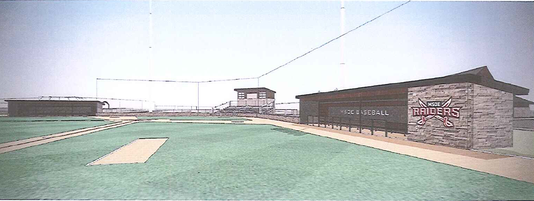 Baseball field at Maslowski Park