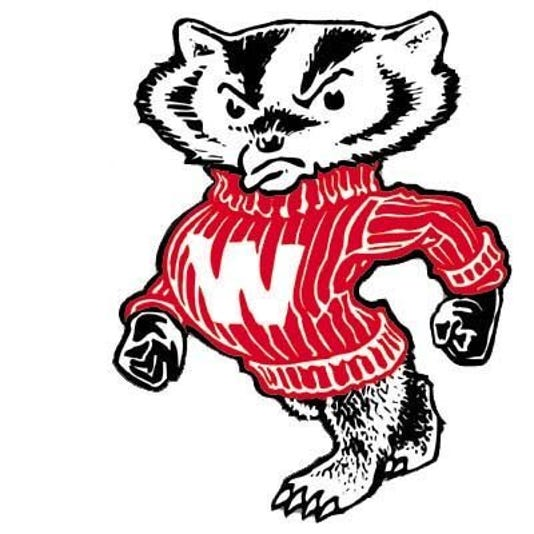 Bucky Badger Old Logo