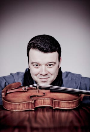 Vadim Gluzman performs Tchaikovsky's Violin Concerto with the Milwaukee Symphony Sept. 28 and 29.